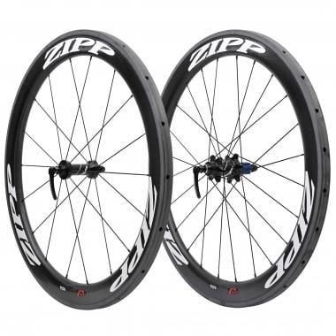 Par de ruedas ZIPP 404 Para tubulares - Pegatinas Blanco