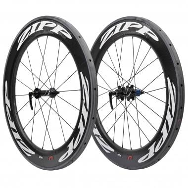 Par de ruedas ZIPP 808 Para tubulares - Pegatinas Blanco