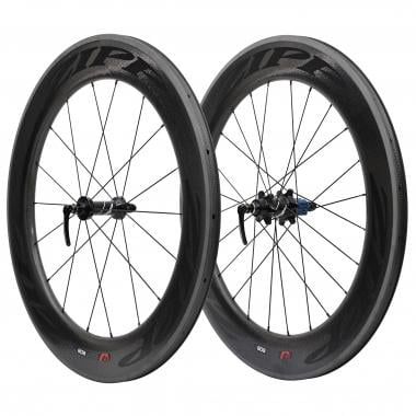 Par de ruedas ZIPP 808 Para tubulares - Pegatinas Negro