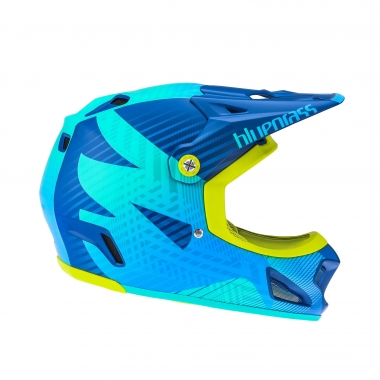 Casco BLUEGRASS BRAVE EAGLE Blu/Verde