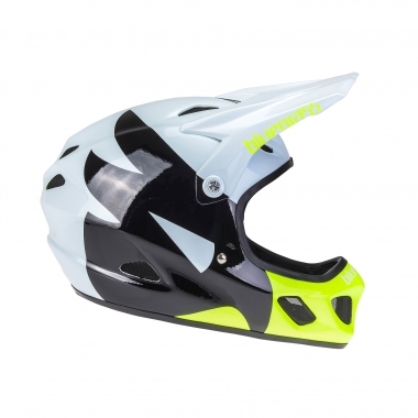 Casco BLUEGRASS EXPLICIT Blanco/Negro/Amarillo