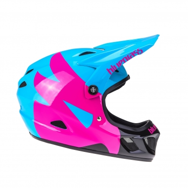 Casco BLUEGRASS EXPLICIT Azul/Rosa/Negro