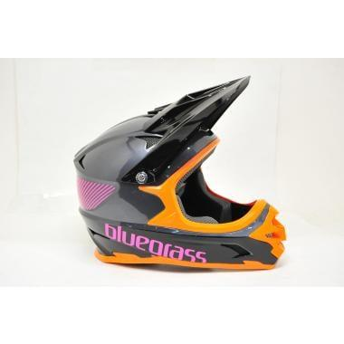 CDA - Casque BLUEGRASS INTOX Gris / Orange / Pourpre Taille M