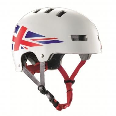 Casco BLUEGRASS SUPER BOLD UNION JACK Blanco