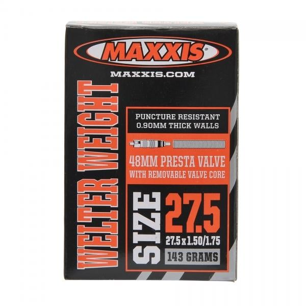 1 tube to 6 tube Maxxis Welter Weight Presta Valve 27.5x1.50-1.75 MTB Bike