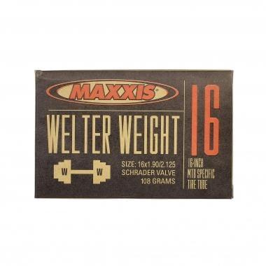 Câmara de Ar MAXXIS WELTER WEIGHT 16x1,90/2,125 Schrader 34 mm IB14204000