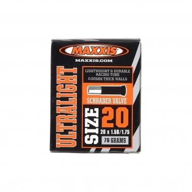 Câmara de Ar MAXXIS ULTRA LIGHT 20x1,50/1,75 Schrader 34 mm IB25400000