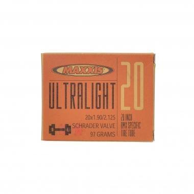 Chambre à Air MAXXIS ULTRA LIGHT 20x1,90/2,125 Schrader 34 mm