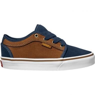 Sapatos VANS CHUKKA LOW Junior Azul/Castanho 2016
