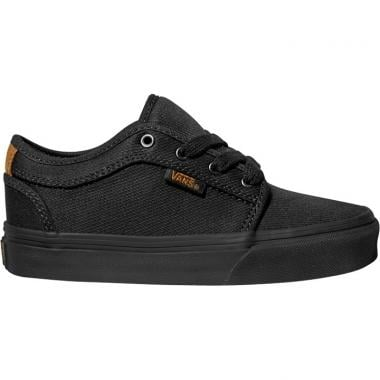 Chaussures VANS CHUKKA LOW Junior Noir 2016