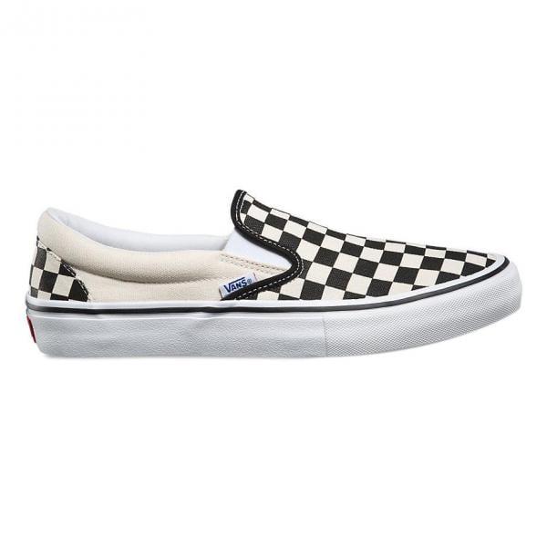 chaussure vans blanc et noir