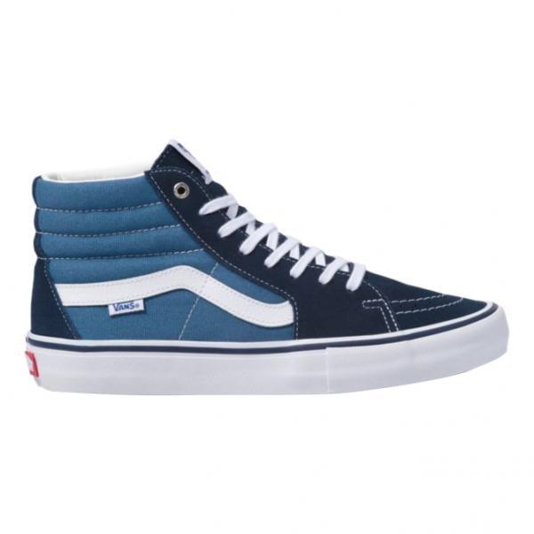 chaussures vans noir et bleu