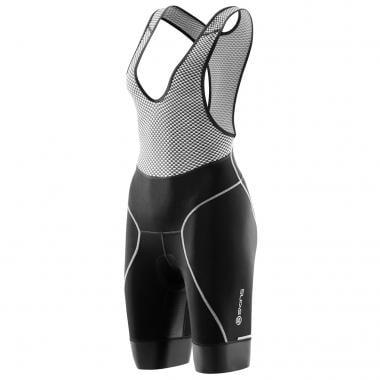Pantaloni Corti con Bretelle SKINS CYCLE Donna Nero