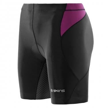 Pantalón corto SKINS TRIATHLON TRI400 Mujer Negro/Rosa