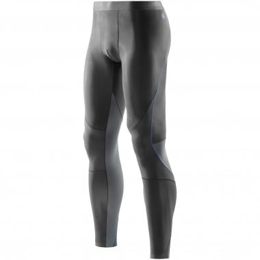 Collant Long SKINS BIO RY400 Graphite/Bleu