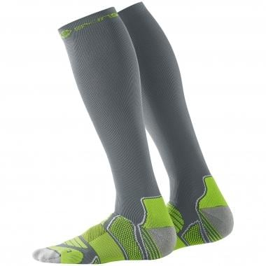 Chaussettes de Compression SKINS ACTIVE COMPRESSION Gris/Jaune