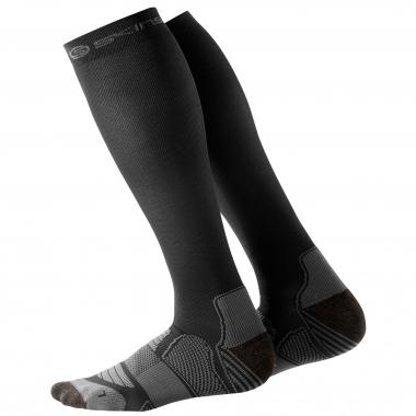 Chaussettes de Compression SKINS ACTIVE Noir/Argent
