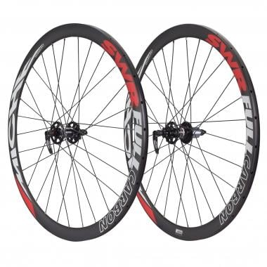 Par de ruedas MICHE SWR FULL CARBON CROSS DX DISC (6 tornillos) para tubulares