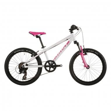 "BTT GHOST POWERKID 20"" Branco/Rosa"