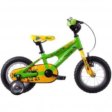 "Bicicletta Bambino GHOST POWERKID 12"" Verde/Giallo/Rosso 2016"
