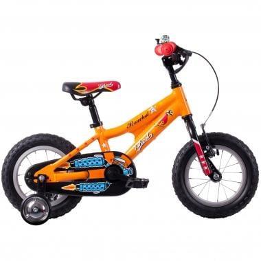 "Vélo Enfant GHOST POWERKID 12"" Orange/Rouge/Noir 2016"