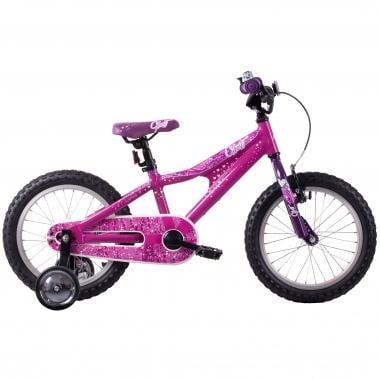 """Bicicleta de Criança GHOST POWERKID 16"""" Rosa/Branco/Violeta 2016"""