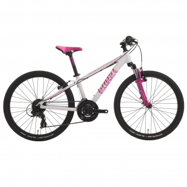 "BTT GHOST POWERKID 24"" Branco/Rosa"