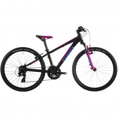 "Mountain Bike GHOST POWERKID 24"" Negro/Rosa/Azul"