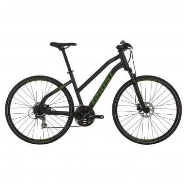 Bicicletta Ibrida GHOST SQUARE CROSS 2 Donna Nero/Verde 2017