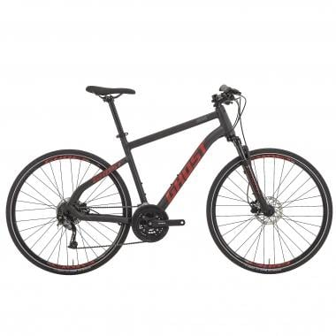Bicicleta todocamino GHOST SQUARE CROSS 4 Negro/Rojo 2017