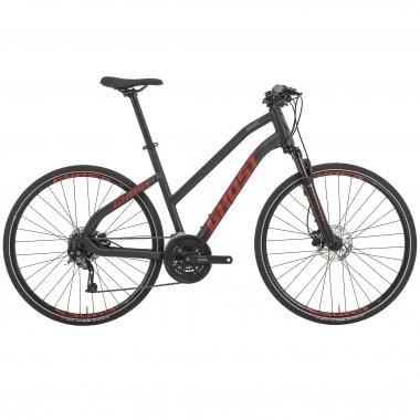 Bicicleta todocamino GHOST SQUARE CROSS 4 Mujer Negro/Rojo 2017