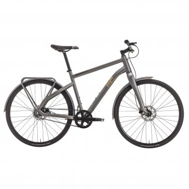 Bicicleta de paseo GHOST SQUARE URBAN 3 Gris 2017
