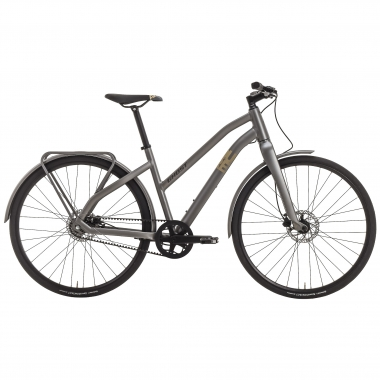 Bicicleta de paseo GHOST SQUARE URBAN 3 Mujer Gris 2017