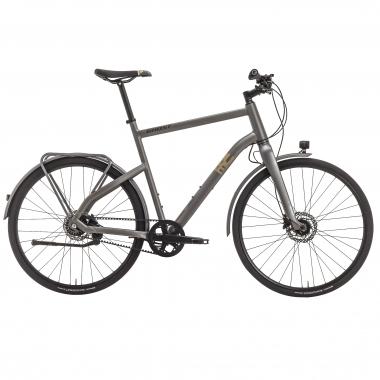 Bicicletta da Città GHOST SQUARE URBAN X7 Grigio 2017