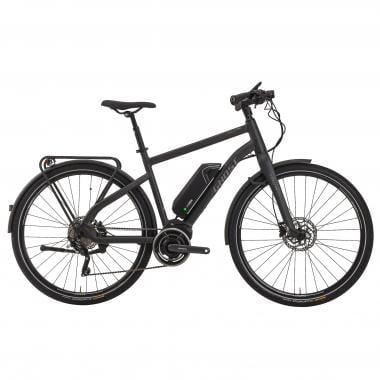 Bicicleta de Viagem Elétrica GHOST HYBRIDE SQUARE TREKKING 4 Preto 2017