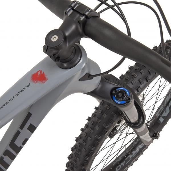mountain bike ghost h amr 8 carbono 27 5 gris 2017 bikeshop. Black Bedroom Furniture Sets. Home Design Ideas