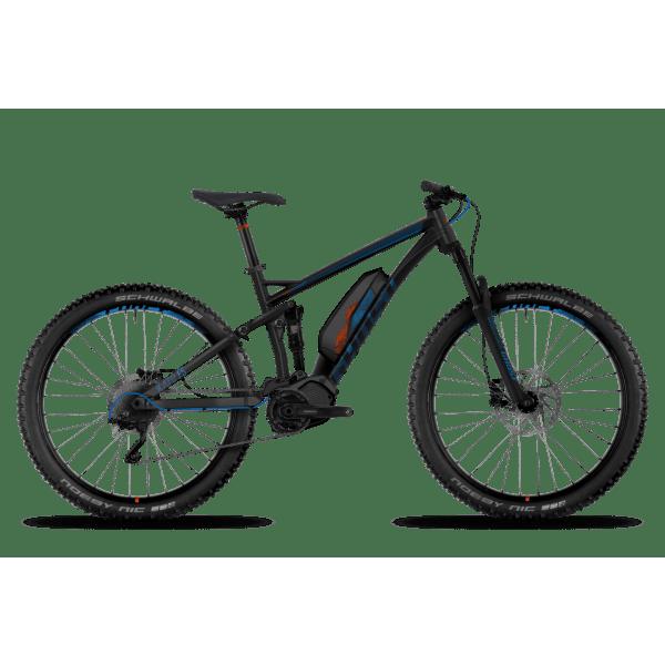 Mountain Bike eléctrica GHOST HYBRIDE KATO FS 4 27,5+ Negro/Azul ...
