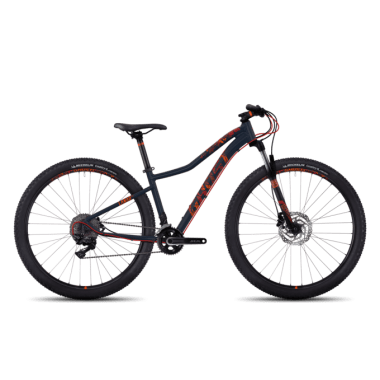 "Mountain bike GHOST LANAO 7 29"" Mujer Negro/Naranja 2017"