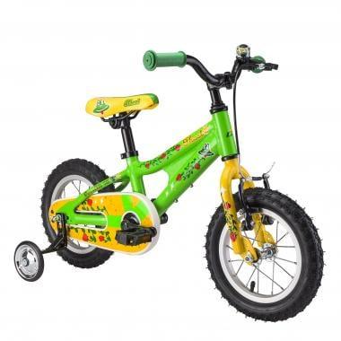 "Bicicleta de Criança GHOST POWERKID 12"" Verde/Amarelo 2017"