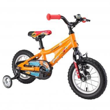 """Bicicleta de Criança GHOST POWERKID 12"""" Laranja/Vermelho/Azul 2017"""
