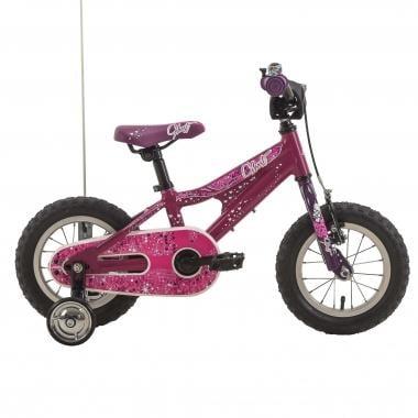 """Vélo Enfant GHOST POWERKID 12"""" Rose/Violet 2017"""
