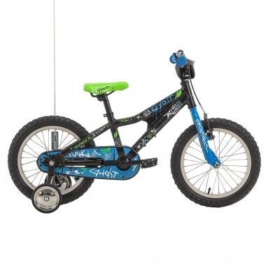"""Bicicleta de Criança GHOST POWERKID 16"""" Preto/Azul 2017"""