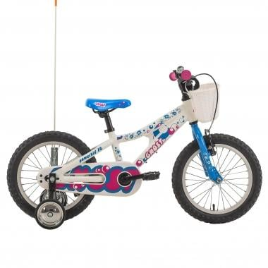 """Bicicleta de Criança GHOST POWERKID 16"""" Branco/Azul/Violeta 2017"""
