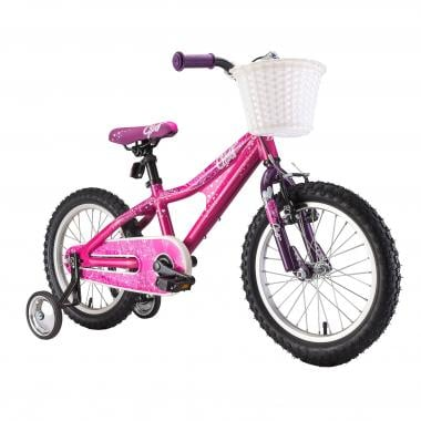 "Vélo Enfant GHOST POWERKID 16"" Rose/Violet 2017"