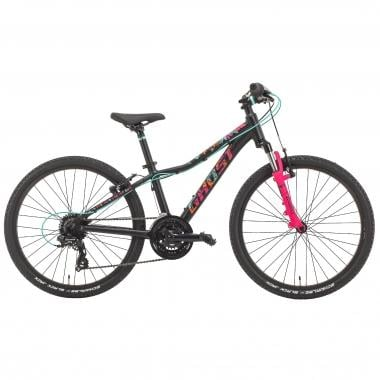 "Mountain bike GHOST LANAO 2 24"" Negro/Rosa 2017"