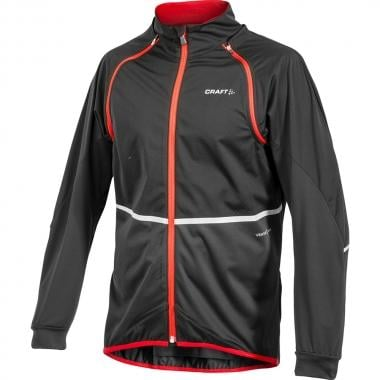 Veste CRAFT ADAPT TEMPETE Noir/Rouge