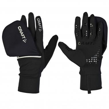 Guantes CRAFT HYBRID WEATHER Negro