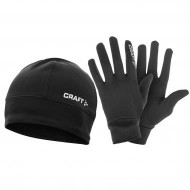 Pack Bonnet + Gants CRAFT Noir 2016
