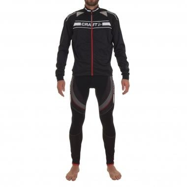 CRAFT Outfit GRAND TOUR Jacket + Bibtights Black/Red/White 2016