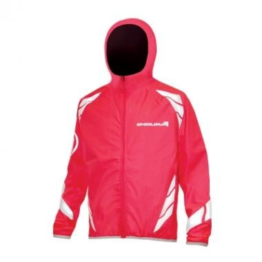 Chaqueta ENDURA LUMINITE HOODED Niño Rosa fluorescente